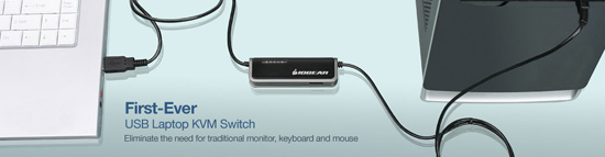 USB Laptop KVM Switch